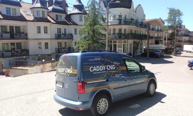 Volkswagen Caddy CNG – Furgon na gazie
