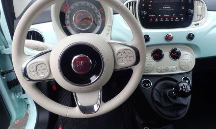 Fiat 500 Hybrid  – Nowy smak pistacji