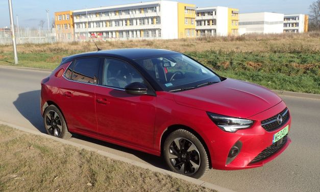 Opel Corsa-e Elegance – Elegant pod prądem