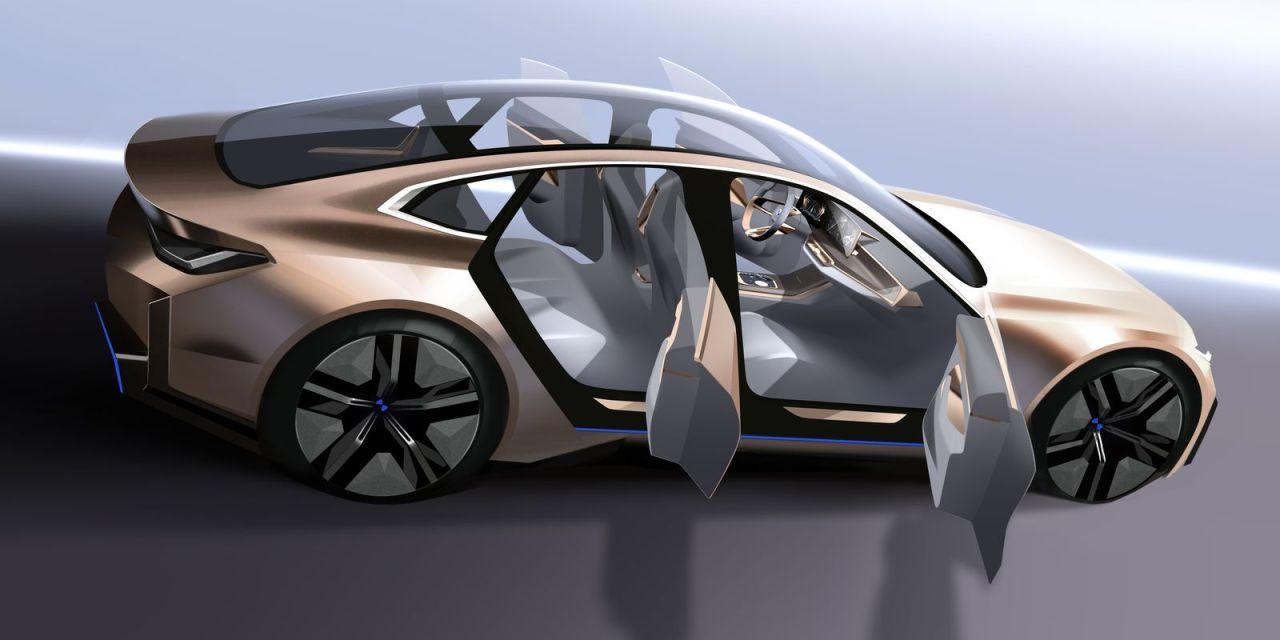 BMW Concept i4 – Elektryczne Gran Coupe