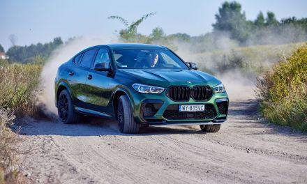 BMW X6 M Competition – Szyty grubymi nićmi