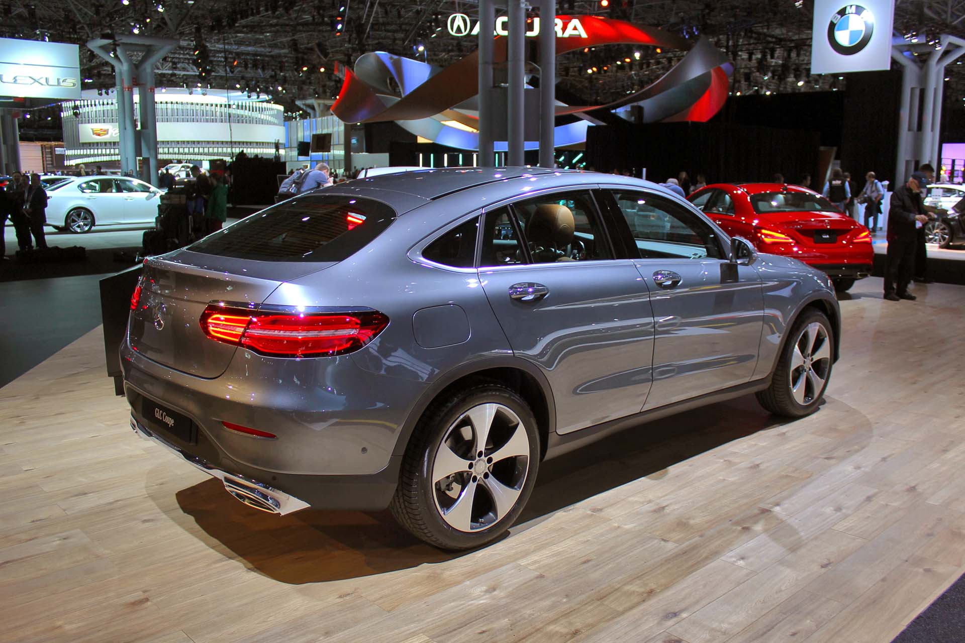 2017 Mercedes Benz GLC Coupe Lands In New York Autosca