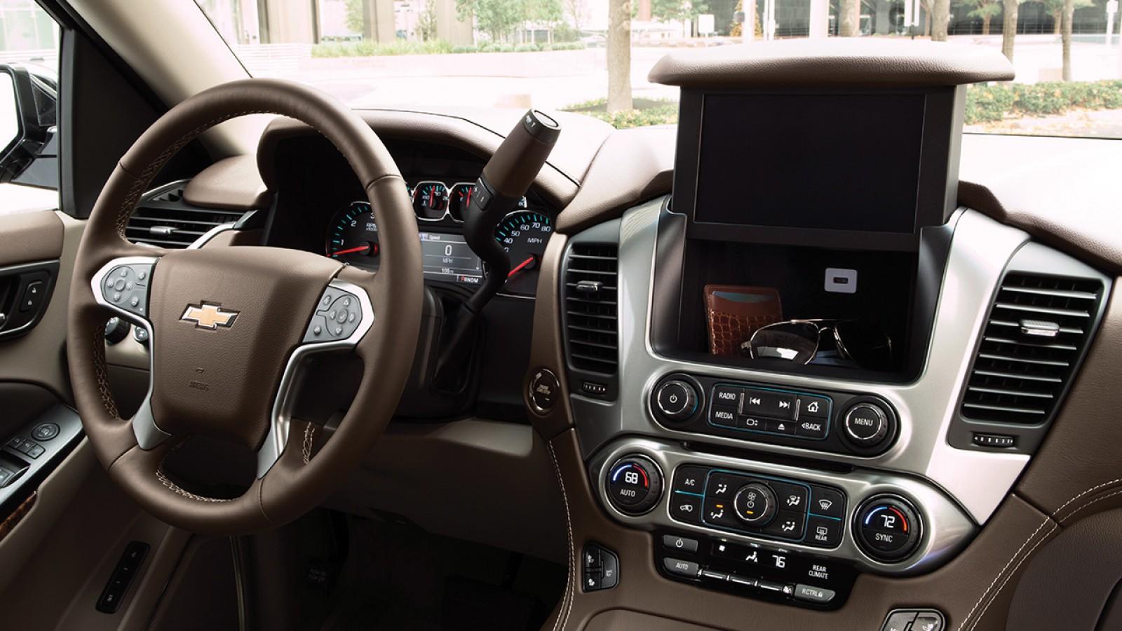 Chevrolet Tahoe 2018 Interior Controles Autos Actual Mxico