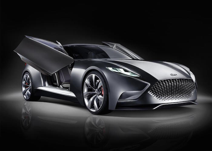 Hyundai HND-9 Luxury Sports Coupe Concept