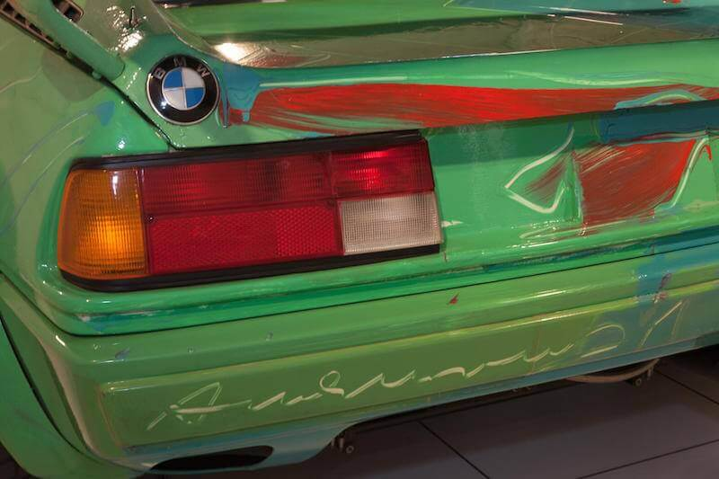 Andy Warhol BMW M1 Art Car 4