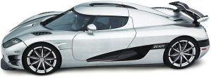 Most expensive modern car Koenigsegg CCXR Trevita
