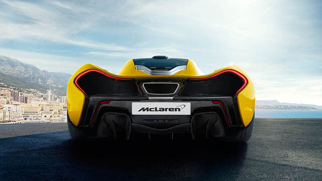 McLaren P1 A quest for driving perfection