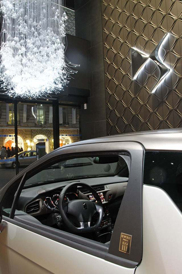 Atmosphere as part of the Citroen DS world store opening on November 28, 2013 in Paris, France.  (Photo by Yves Forestier/Getty Images for Citroen)