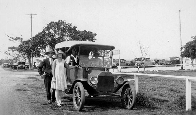The iconic Model T Ford