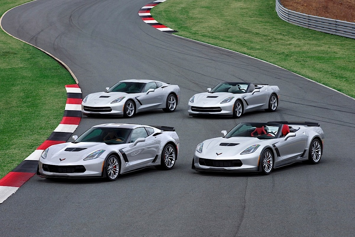The complete 2015 Chevrolet Corvette Lineup.