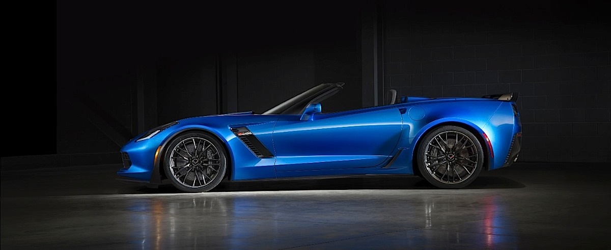 The 2015 Chevrolet Corvette Z06 Convertible