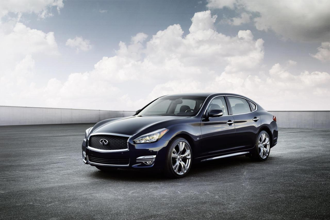 The 2015 Infiniti Q70L. Infiniti have released 2015 Q70 pricing details.