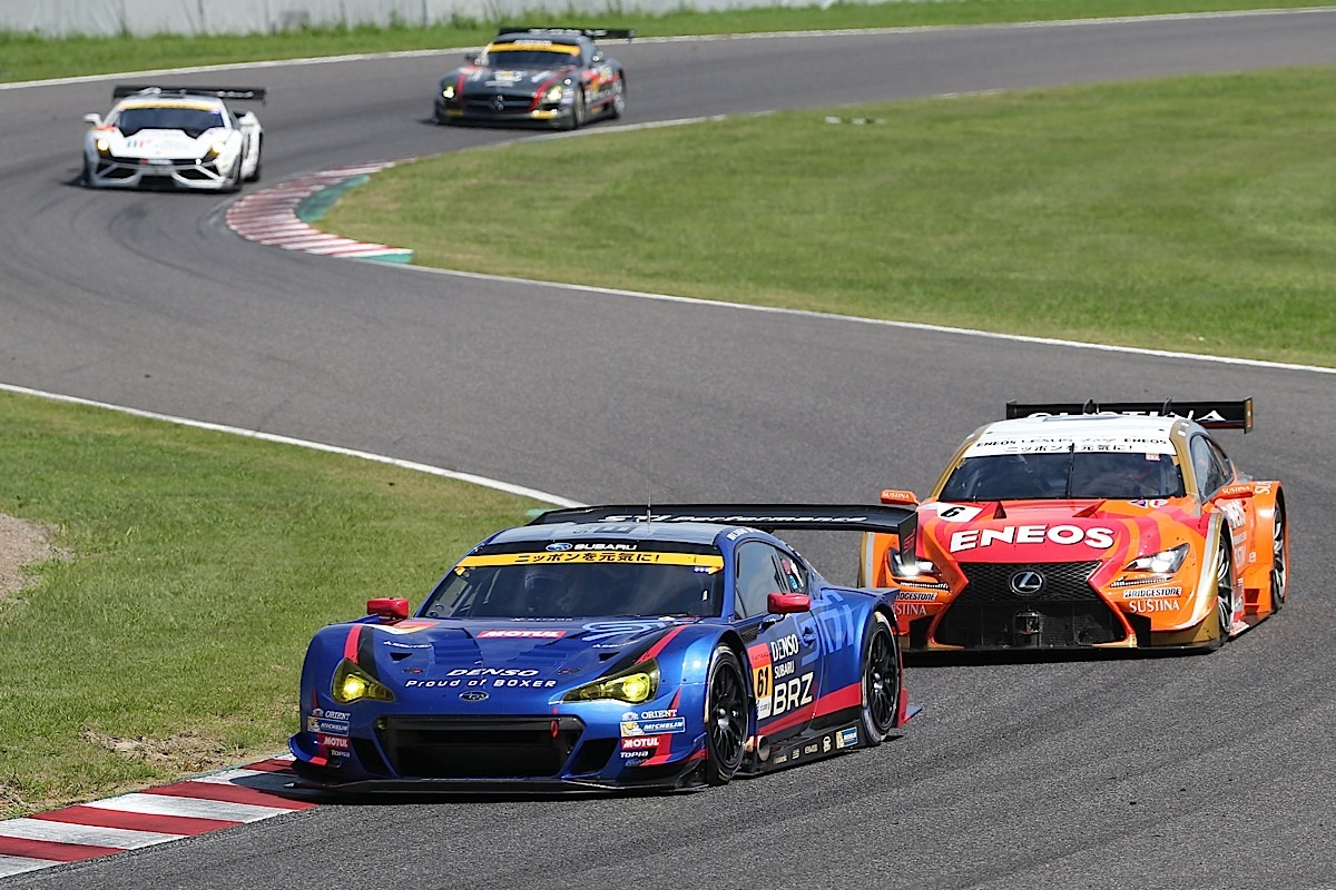 2014 AUTOBACS SUPER GT Round 6 43rd International SUZUKA 1000km - Final Race