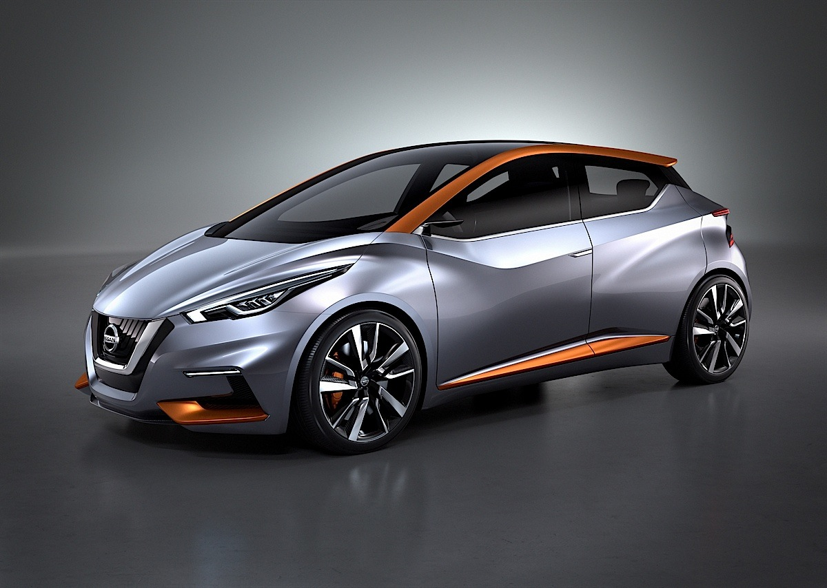 Unveiled at the Geneva Show, the Sway Concept is a glimpse at how a future generation of compact Nissan models might look if the company's striking new design language was applied to a European hatchback. It is a concept car designed especially to appeal to European tastes: it is seen as emotional, edgy and exciting.