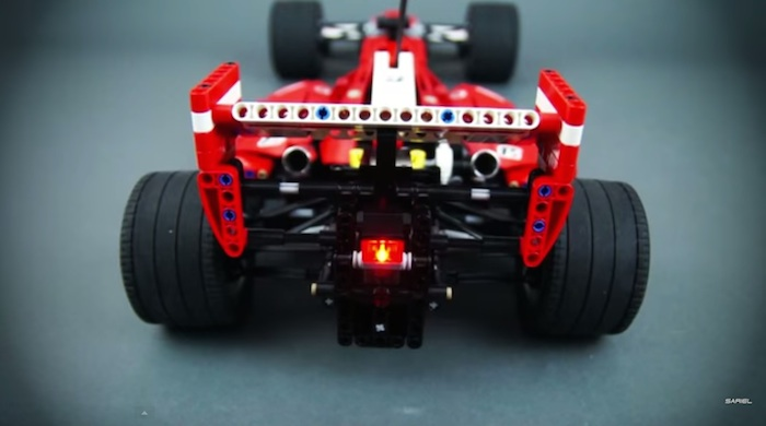 Lego Technic RC F1 Car