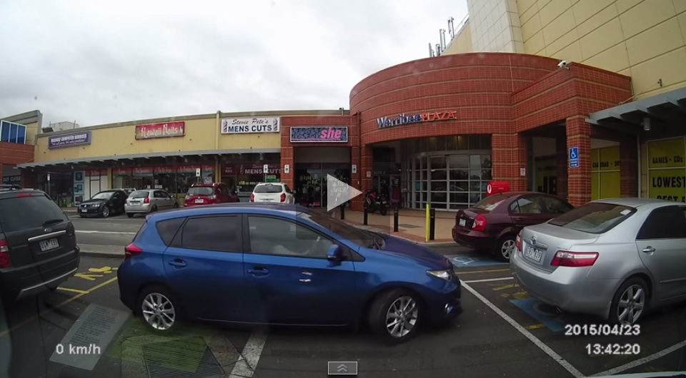 This Woman Could Be The World's Worst Parker