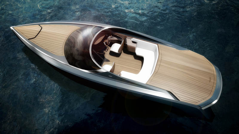 Aston Martin's 'James Bond' Boat Has An Espresso Machine
