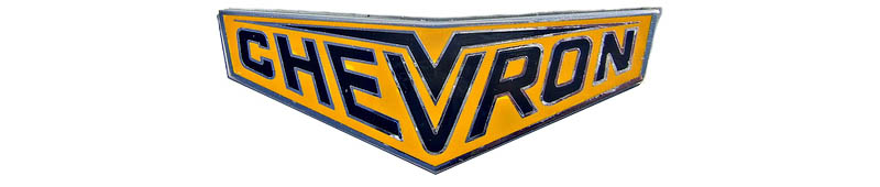 Large Chevron Cars logo