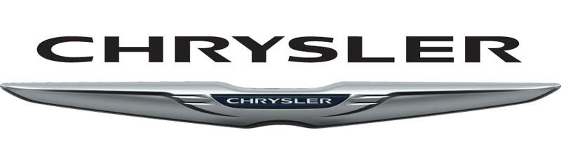 Large Chrysler logo