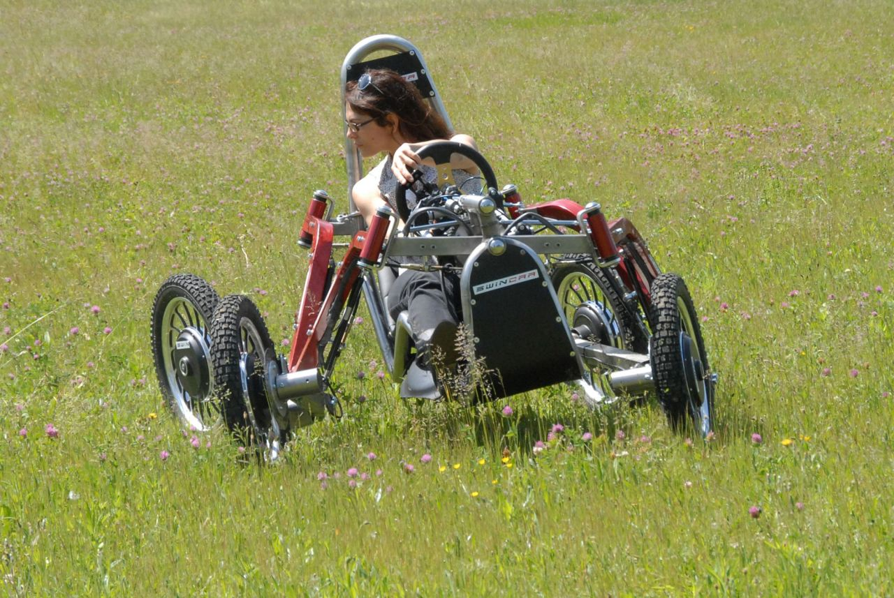Check this electric 'spider buggy'