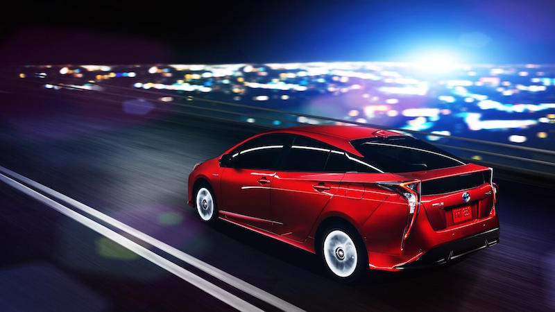 Check Out The New Toyota Prius. And, Yup, It Still Looks Weird