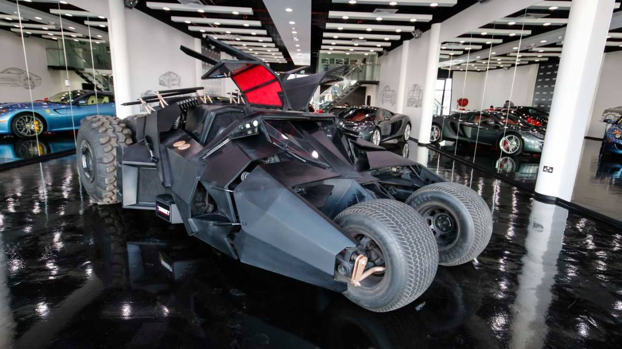 The Batmobile Is For Sale In Dubai For $1m