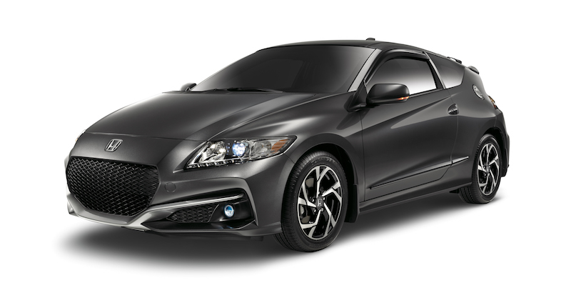 Accessorized 2016 Honda CR-Z