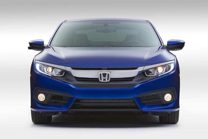 2016 Honda Civic Coupe 4