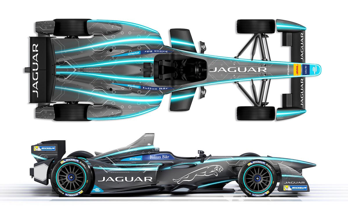 Jaguar Formula E Car 2