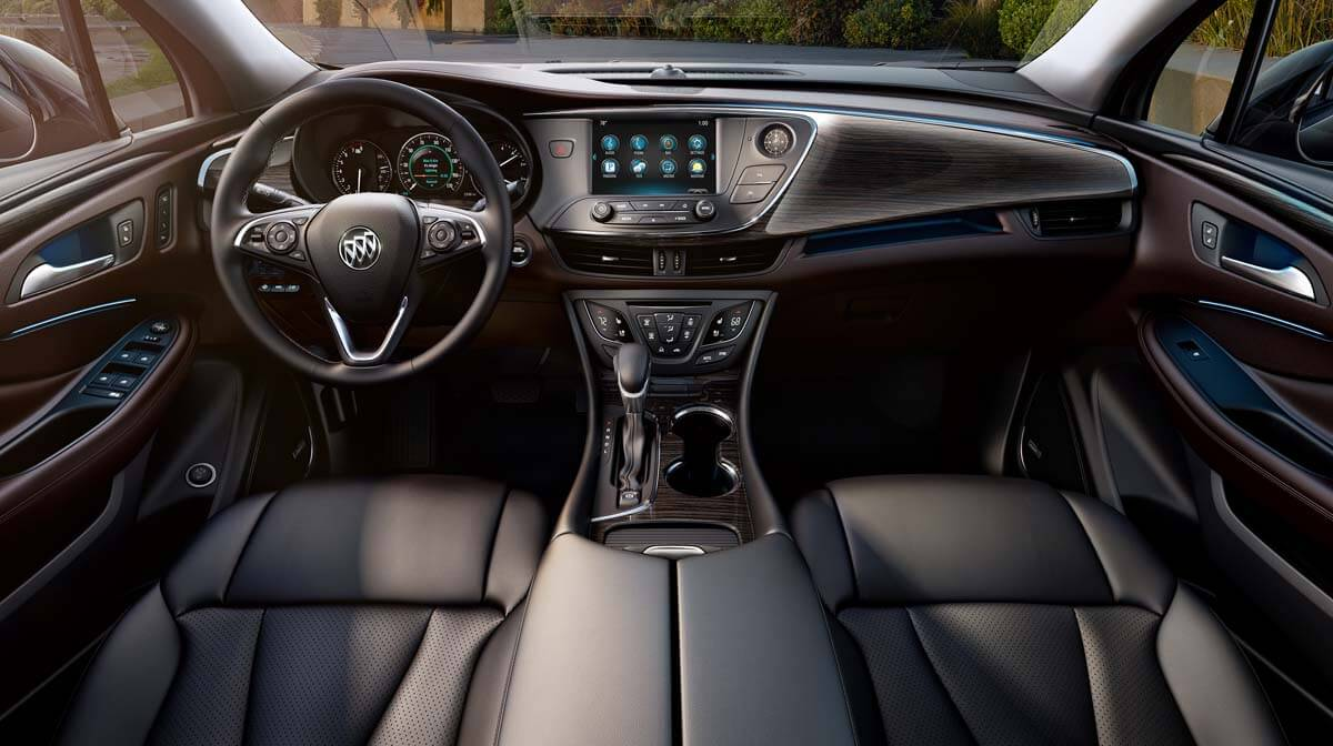 2016 Buick Envision Dashboard