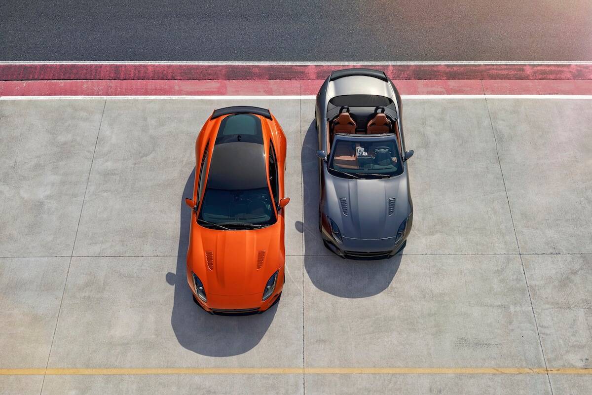 2017 Jaguar F-Type SVR Convertible and Coupe 3