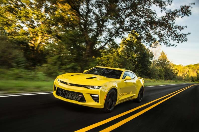 Affordable sports cars - 2016 Chevrolet Camaro