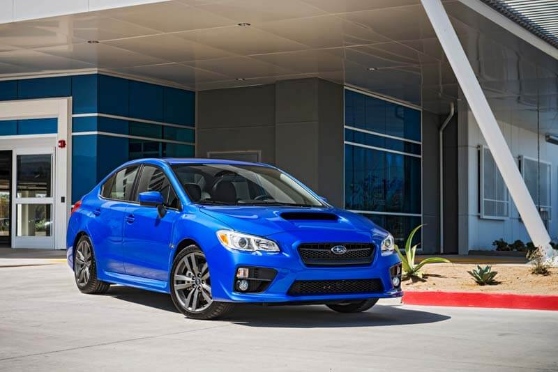 Affordable sports cars - 2016 Subaru WRX