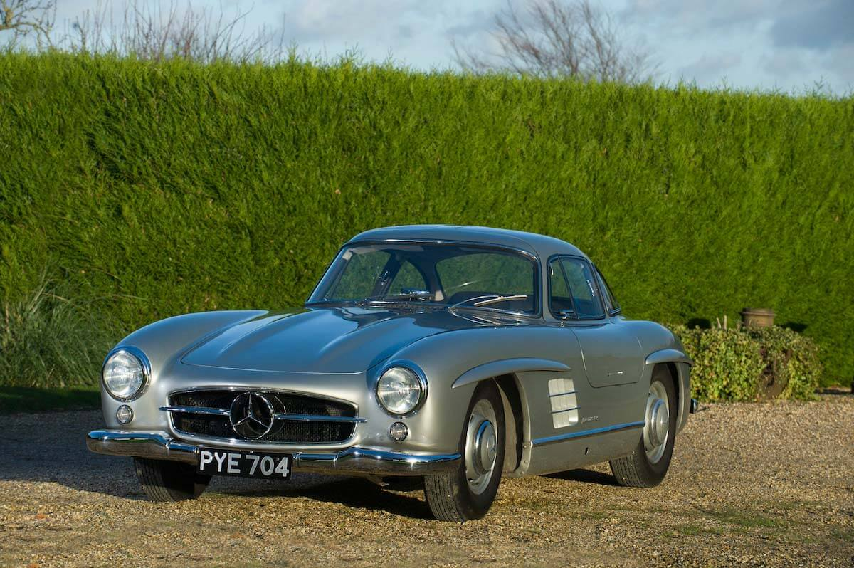 Mercedes 300SL Gullwing Bonhams auction 4