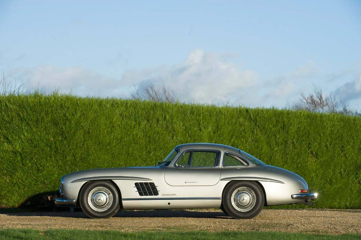 Mercedes 300SL Gullwing Bonhams auction 5