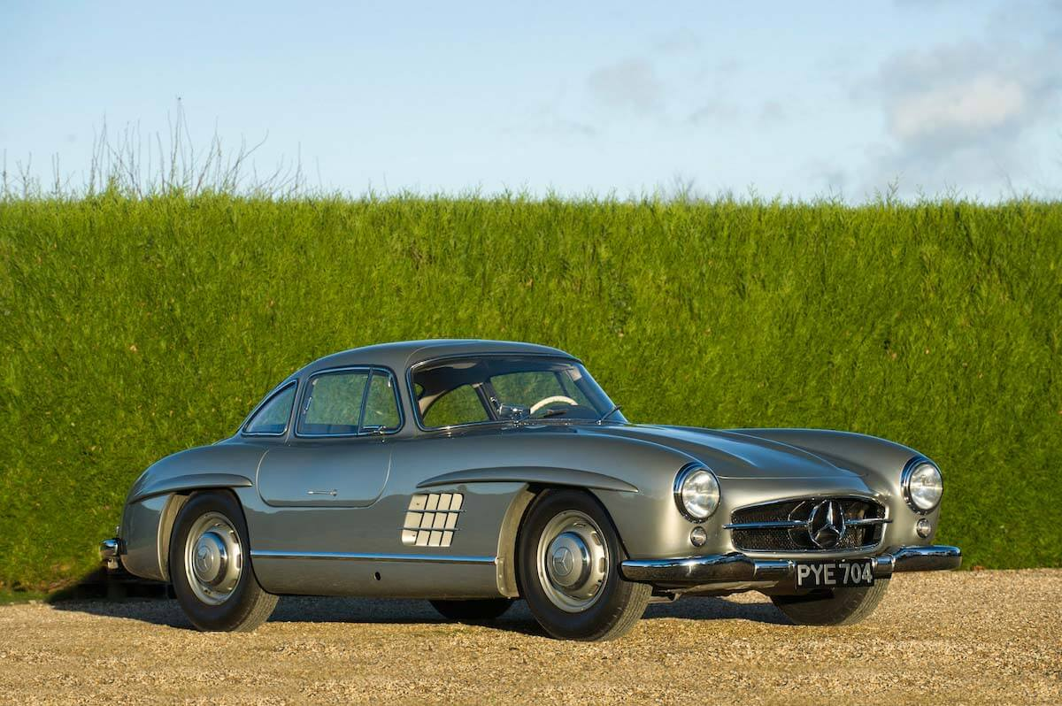 Mercedes 300SL Gullwing Bonhams auction 9