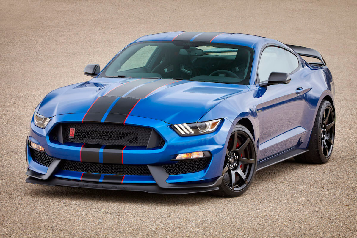 2017 Ford Shelby GT350R in Lightning Blue