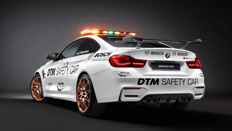 BMW builds awesome M4 GTS safety car and racing wheelchair