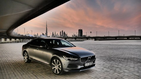 The 2017 Volvo S90 T6