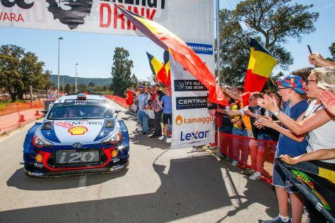 Hyundai Motorsport Wins WRC Tour de Corse in Double Podium Finish-02