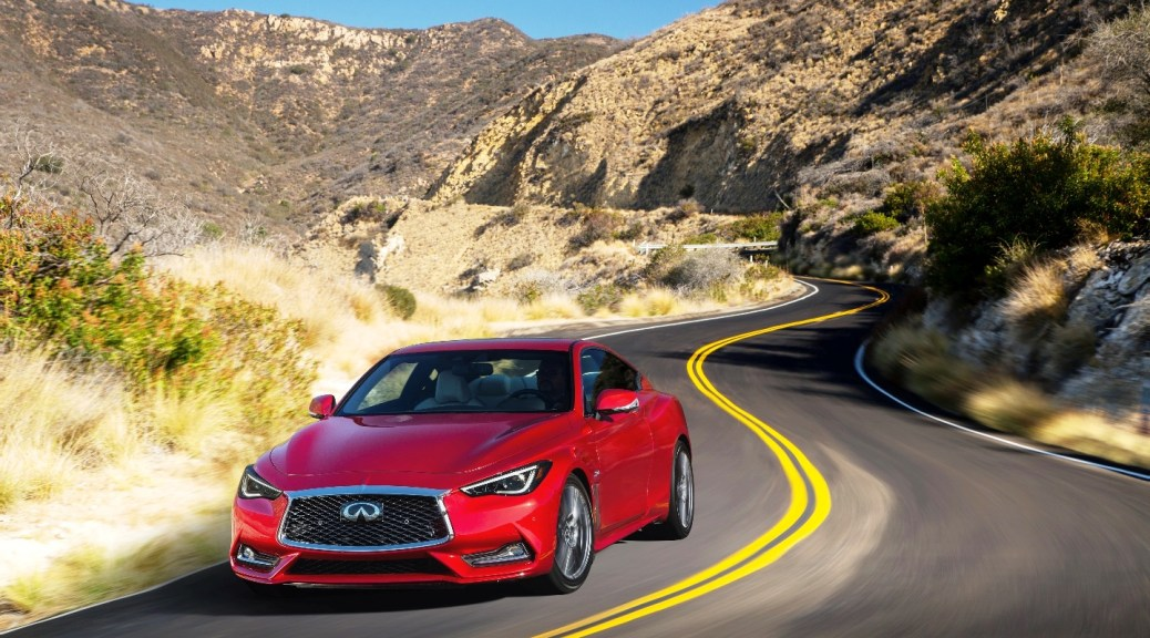 New INFINITI Q60 Sports Coupe Designed and Engineered to Perform