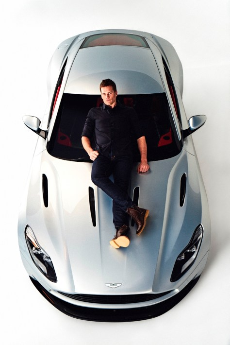 Aston Martin and Tom Brady Unite