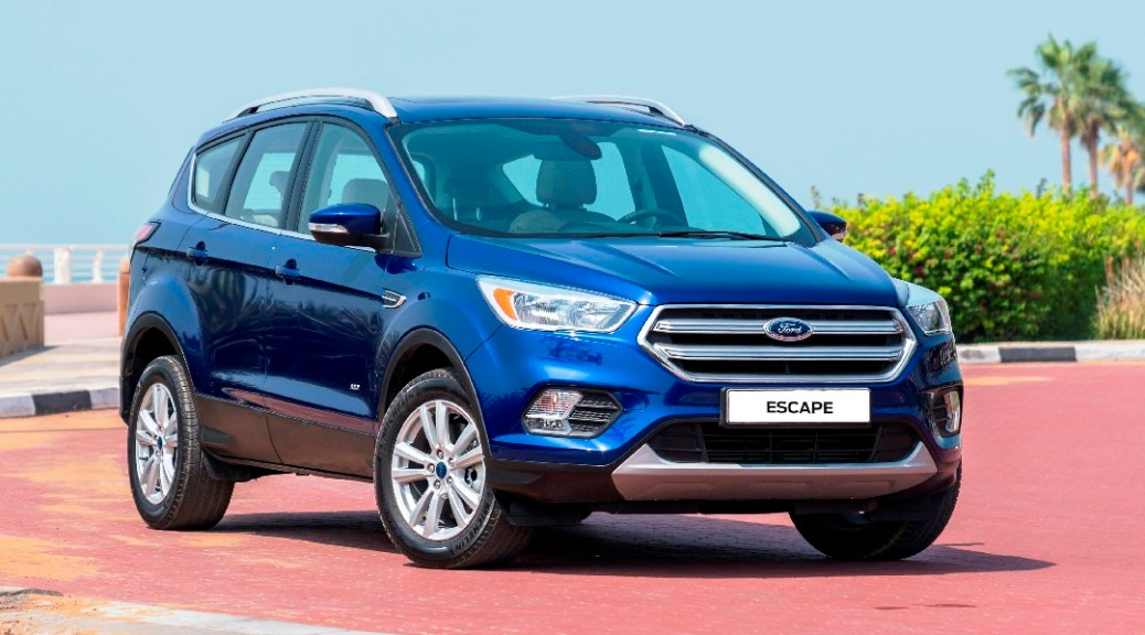 The New Ford Escape SUV Offers Cutting-Edge Ford Technologies