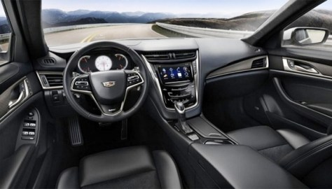 The new Cadillac CTS-V -Interior