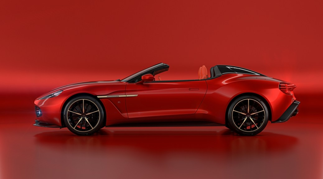 Vanquish Zagato Coupe and Volante Joined by Speedster and Shooting Brake