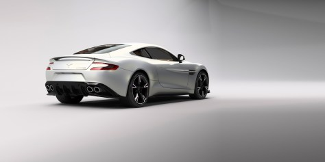 The Aston Martin Vanquish S Pearl Edition