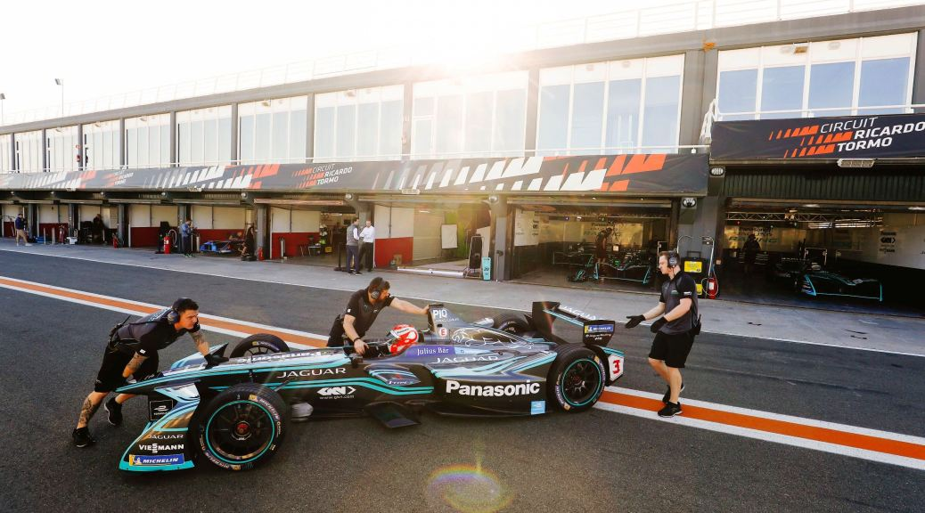 Panasonic Jaguar Racing Complete Pre-Season Testing