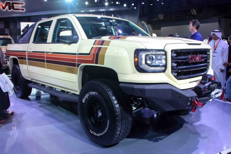 GMC Desert Fox Middle East concept vehicle