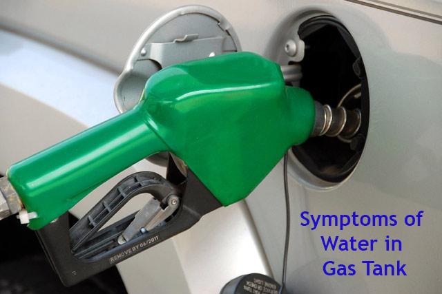 Symptoms of Water in Gas Tank