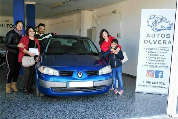 Foto compradores Renault Megane azul